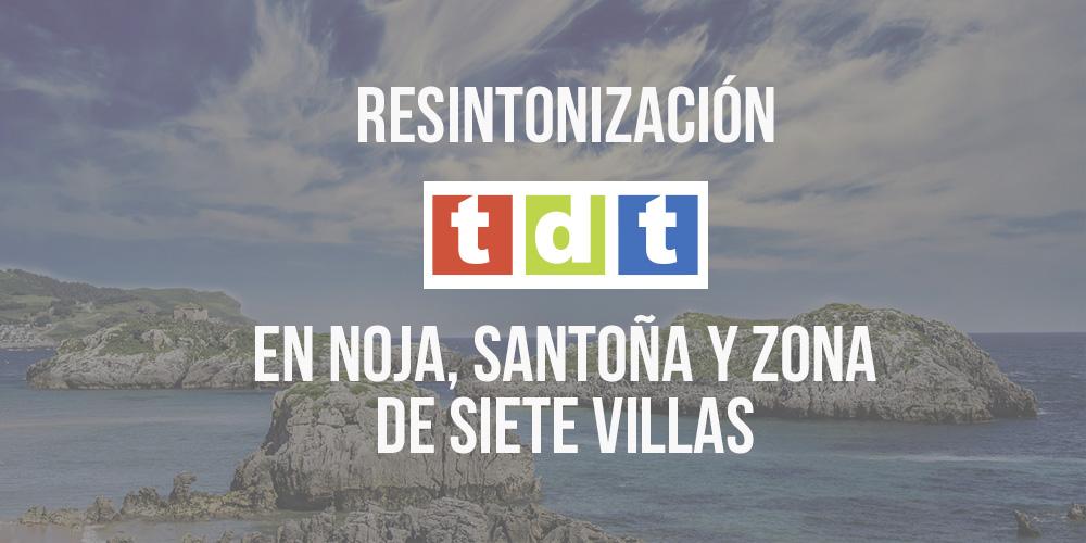 Resintonización TDT Noja