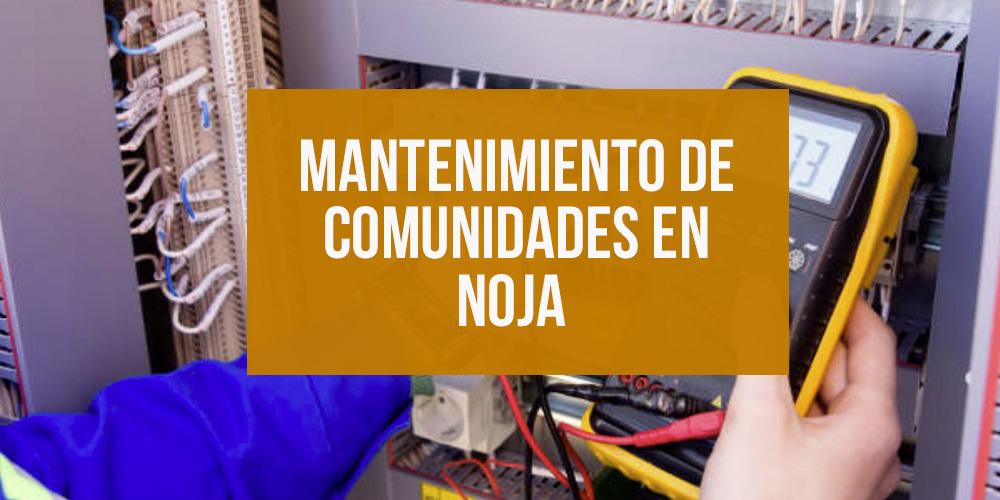 Mantenimiento de comunidades en Noja