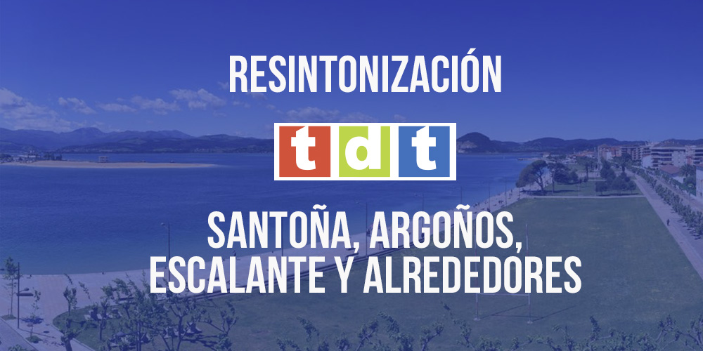 Resintonización TDT Santoña